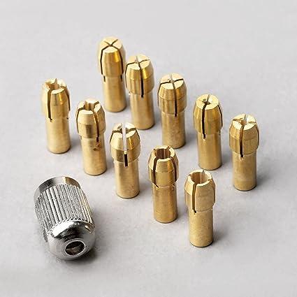 Mini mandrin perceuse 0,5 3,2MM percage pointage usinage atelier dremel