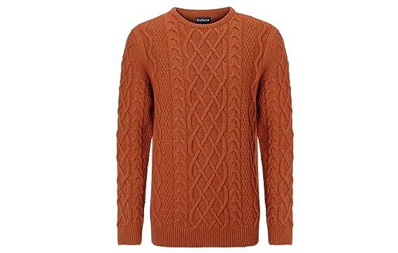 21b3cdf03f5d Barbour Kirktown Mens Wool Crewneck Wool Sweater at Amazon Men s ...