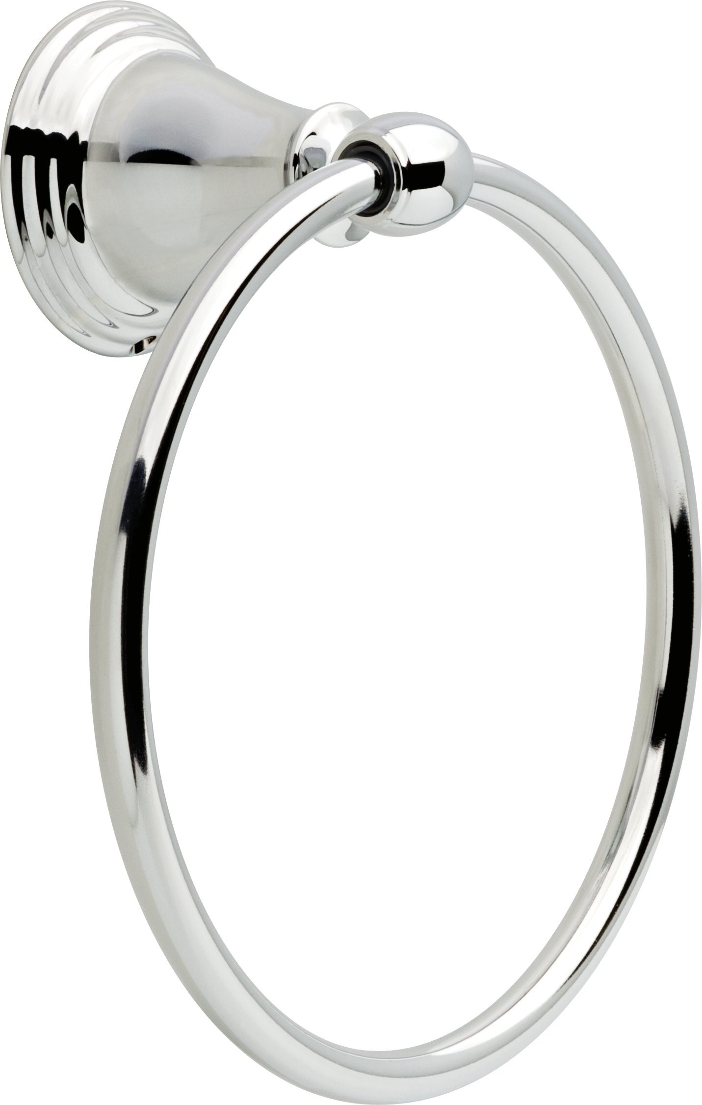 Delta Faucet 70046 Windemere Towel Ring, Polished Chrome by DELTA FAUCET