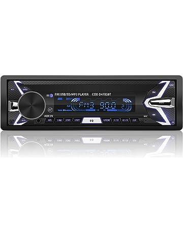 YOHOOLYO Radio Coche Bluetooth Auto Radio FM USB MP3 Audio Estéreo Manos Libres In-Dash