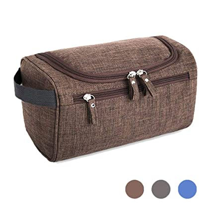155aa4627052 Double Ss Hanging Travel Toiletry Bag for Men and Women Waterproof Cosmetic  Organizer For Make UP Dopp Kit Shower Bag with Sturdy Hook