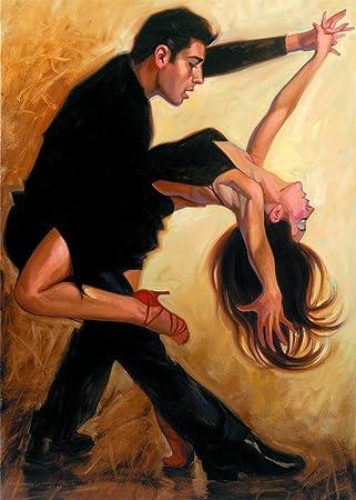 La Salsa by Hendrick Gil – Canvas Art Print 20×27
