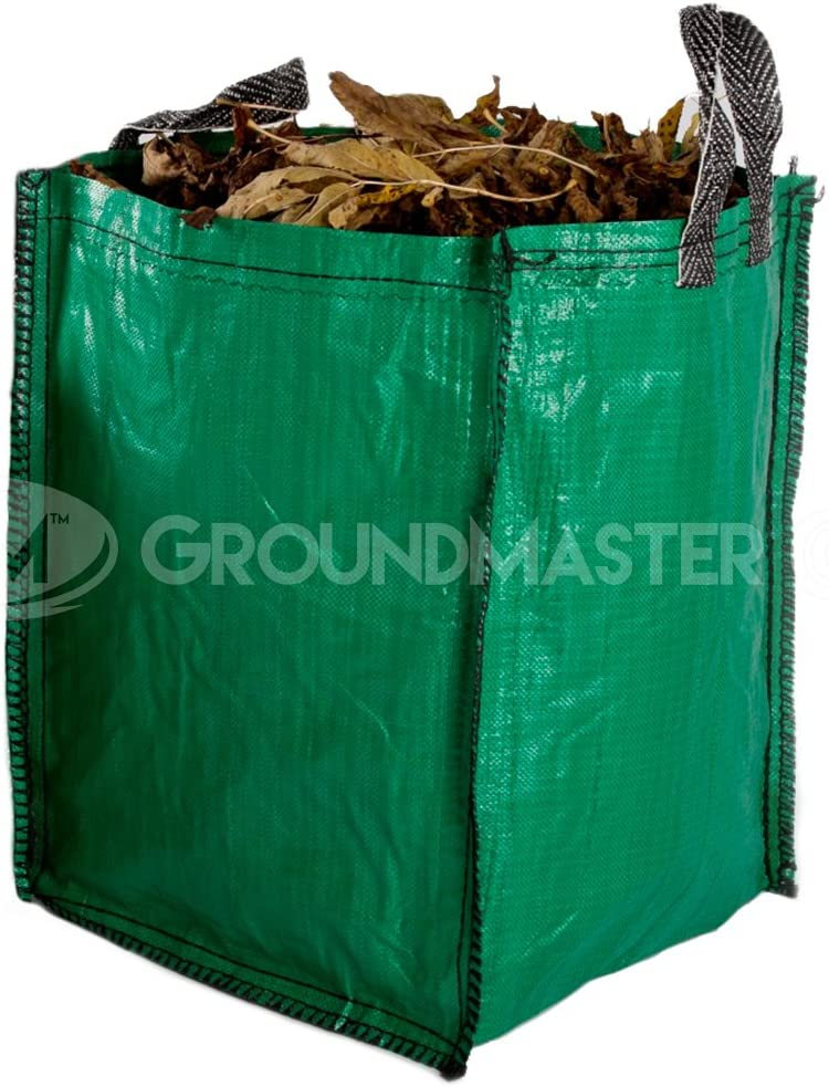 Builders Woven Reusable Work Bin Waste Bags Heavy Duty Rubble Sacks 120L x 6