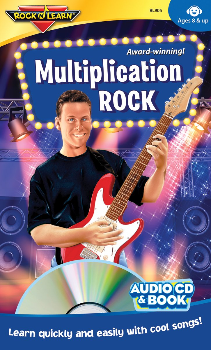 Multiplication Rock Audio CD and Book by Rock 'N Learn
