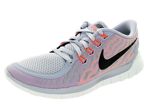 NikeNike Free 5.0 - Scarpe Running Donna, Multicolore (Mehrfarbig  (Wei?/Rosa/