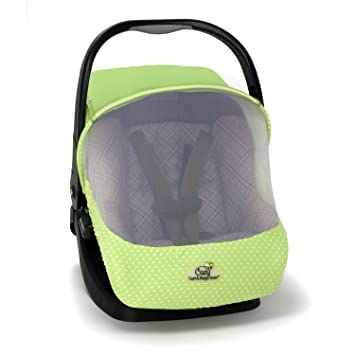Fabulous Cozy Car Seat Sun And Bug Cover Green Ocoug Best Dining Table And Chair Ideas Images Ocougorg