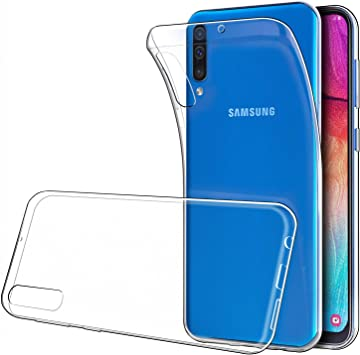 6.4//2019 Simpeak Funda para Samsung Galaxy A50 Funda Transparente Samsung Galaxy A50 Carcasa Samsung Galaxy A50 Silicona TPU Case Transparente