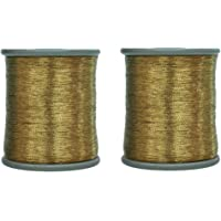 Embroiderymaterial Metallic Zari Thread for Embroidery, Sewing and Jewelry Making