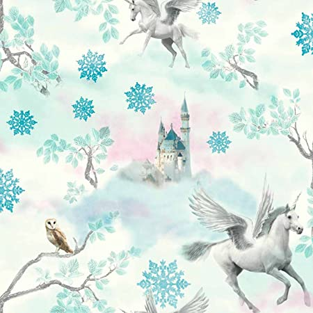 Fairytale unicorn wallpaper horse textured glitter effect white ice fairytale unicorn wallpaper horse textured glitter effect white ice blue voltagebd Image collections