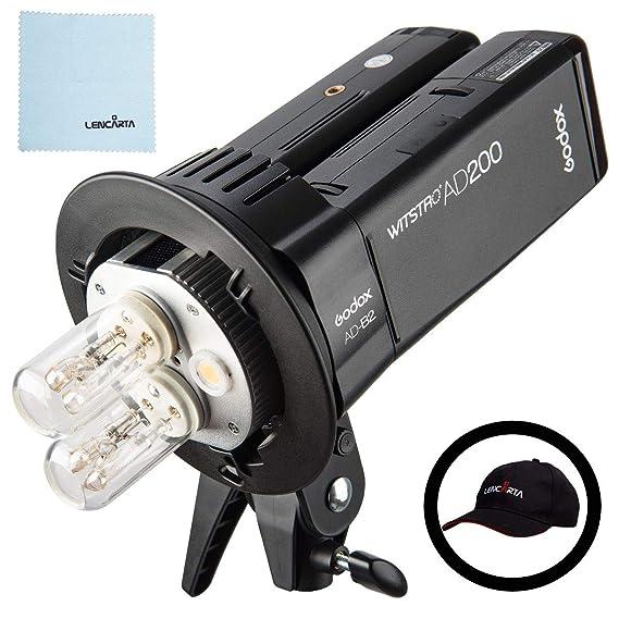 Godox x1t-s flash Trigger per Sony fotocamera flash Lightning kit Godox AD200/TTL 2.4/G HSS 1//8000s Pocket flash luce doppia testa 200/WS 2900/mAh con batteria al litio torcia