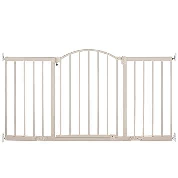 Summer Infant 27284z Metal Expansion 6 Foot Wide Walk Thru Gate