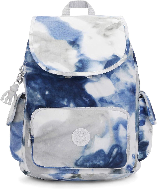Kipling City Pack Mochila pequeña, Azul (Azul Tie dye), Talla única: Amazon.es: Ropa y accesorios