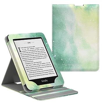 MoKo Kindle Paperwhite E-Reader Funda, Prima Voltear verticalmente ...