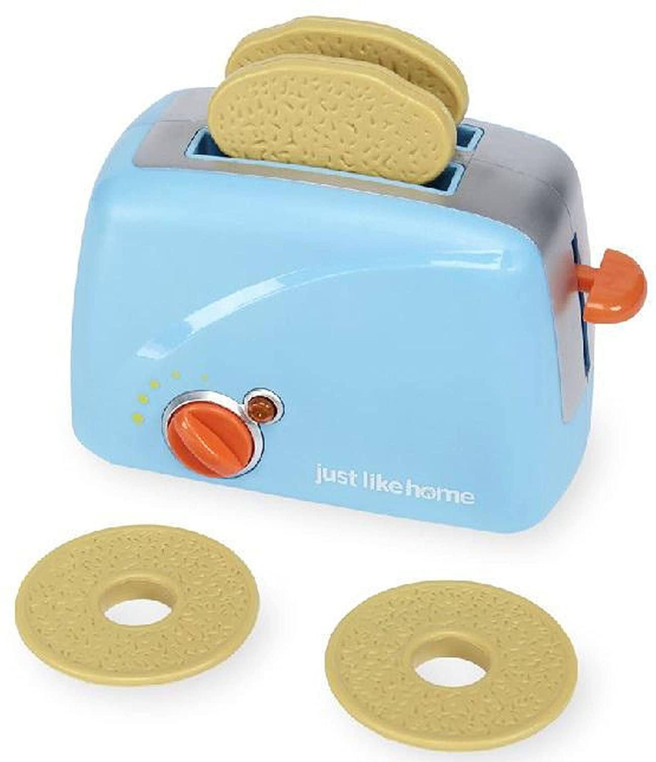 Just Like Home AD11968 Toaster Playset - Blue