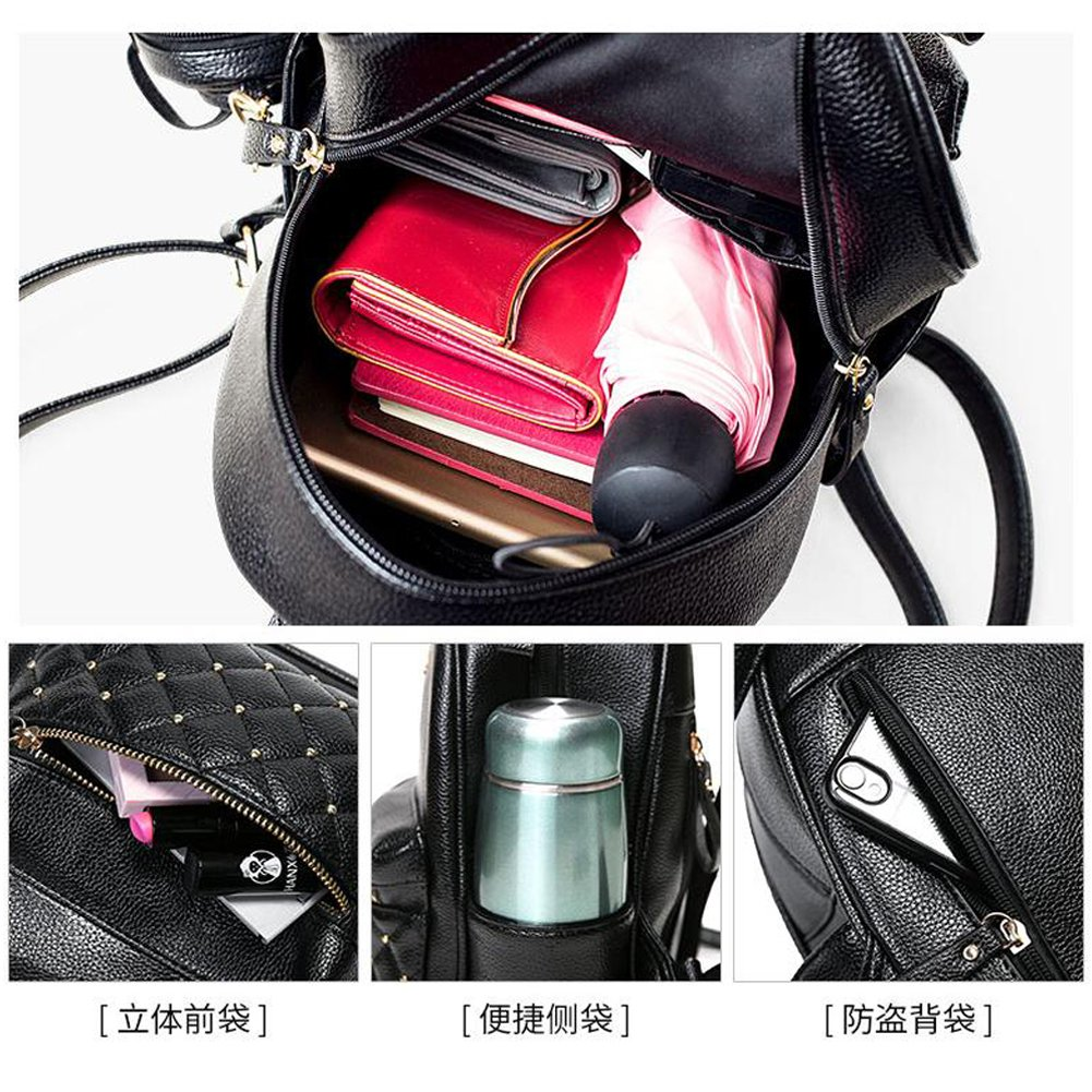 Amazon Com Cute Small Backpack Mini Purse Casual Daypacks Leather For Teen Girls And Women Backpacks