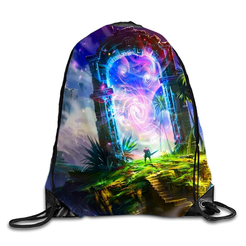 Fantasy Land Gym Bag Gym Sack Bag Drawstring Backpack Sport Hipster Style Bag