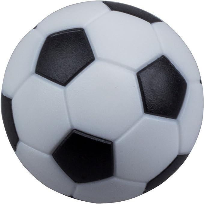 SODIAL 4pcs de 32mm Mesa de futbol de plastico Pelota de foosball ...