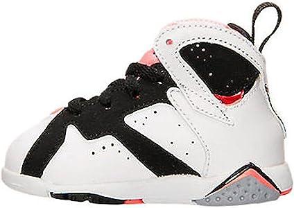 100fc27364c2 Jordan Toddlers Jordan 7 Retro GT White White Black Hot Lava Basketball  Shoe 5 Infants US. Nike Jordan Toddlers Jordan 7 Retro GT ...