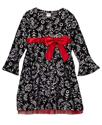 b8cfa18b6c91 Amazon.com  Youngland Toddler Little Girl s Paisley Holiday Dress ...
