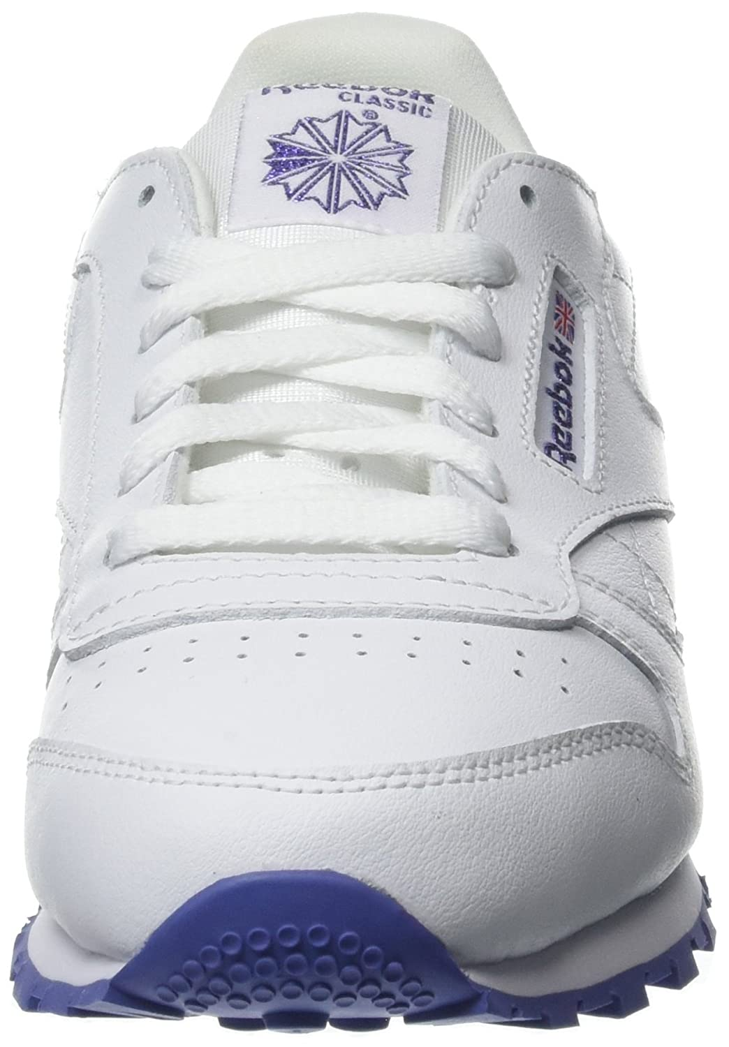 Lurex Enfant Classic Reebok Leather Mixte Blanc White Baskets IOUw1xwqY