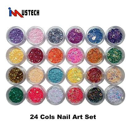 Amazon Imustech Nail Art Decoration 24 Cols 3d Nail Art Kit