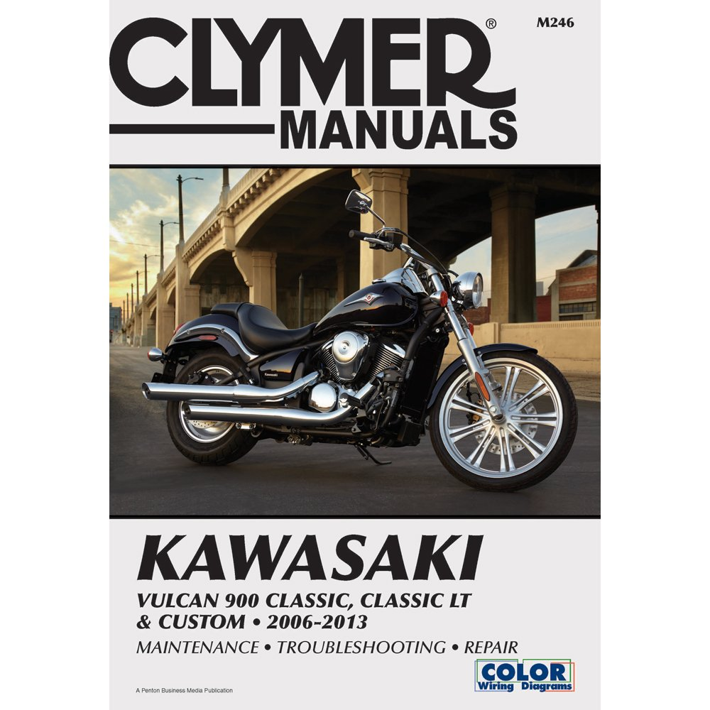 71inJzyQE3L._SL1000_ amazon com clymer kawasaki vulcan 900 classic, classic lt  at mr168.co