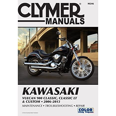 amazon com clymer kawasaki vulcan 900 classic classic lt custom rh amazon com 2006 kawasaki vulcan 900 owners manual pdf 2007 kawasaki vulcan 900 owners manual