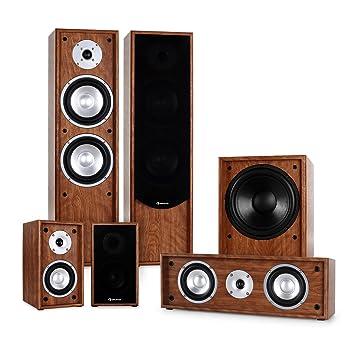 Auna Linie-300-WN 5.1 Sistema de Sonido Home Cinema (515W ...