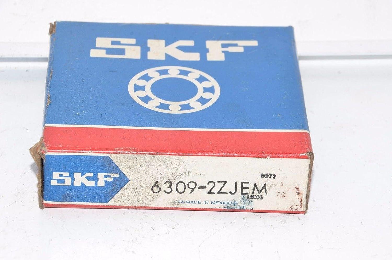SKF 6309 2ZJEM Single Row Shielded Deep Groove Radial Ball Bearing