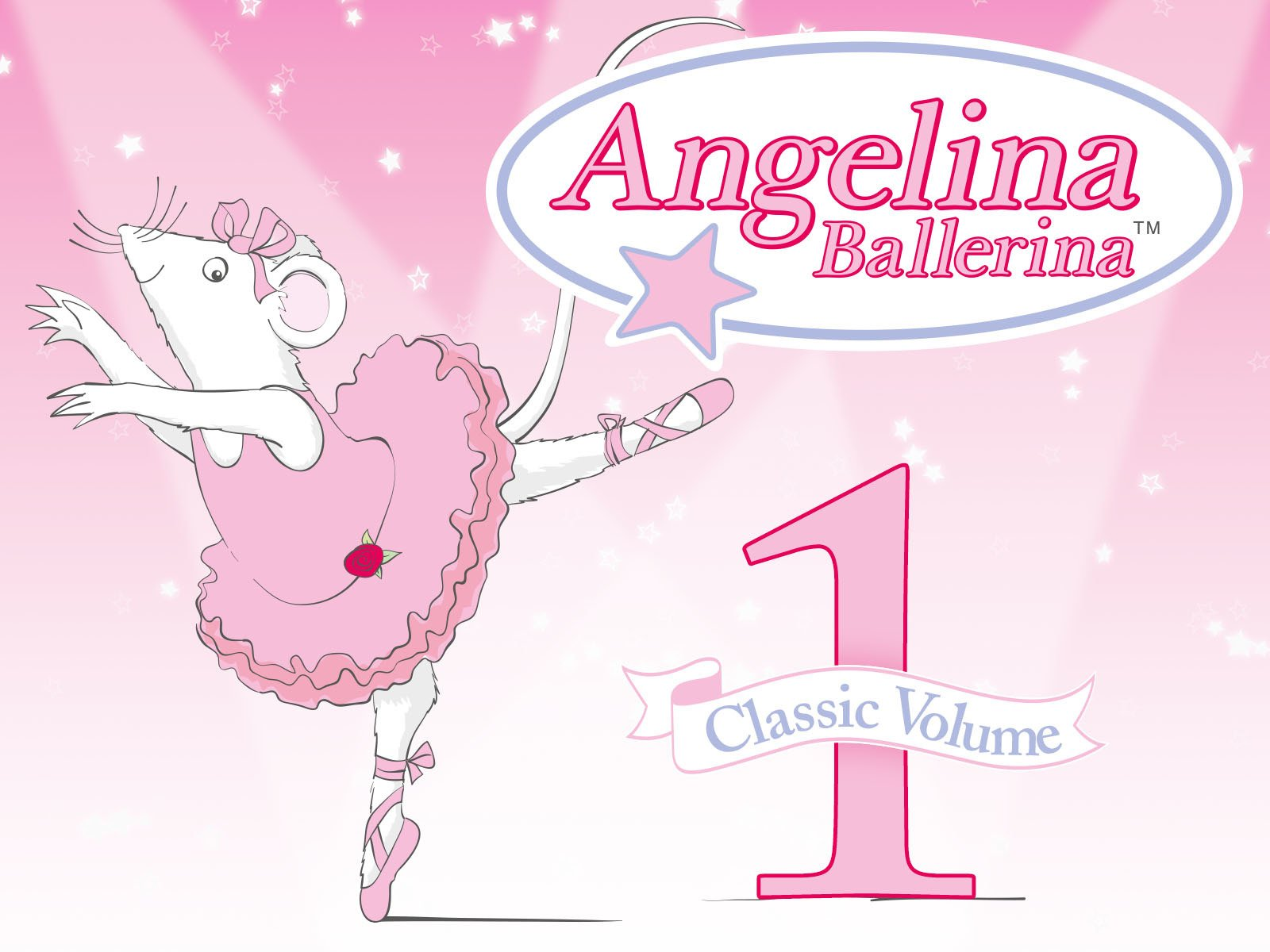 Amazon.com: Angelina Ballerina Classic Volume 1: Finty Williams, Judy  Dench, Jo Wyatt, Keith Wickham, Jonell Elliott, Roger McIntosh, Barbara  Slade, ...