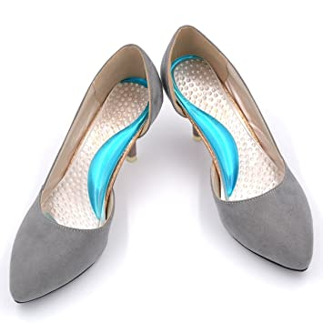 893ef1c816 Arch Support Shoe Inserts for Women High Heels , Relieve Pain from High  Arch, Plantar
