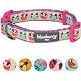 Blueberry Pet 5 Patterns Statement Collection Dog Collars with Awesome Small Animal Prints