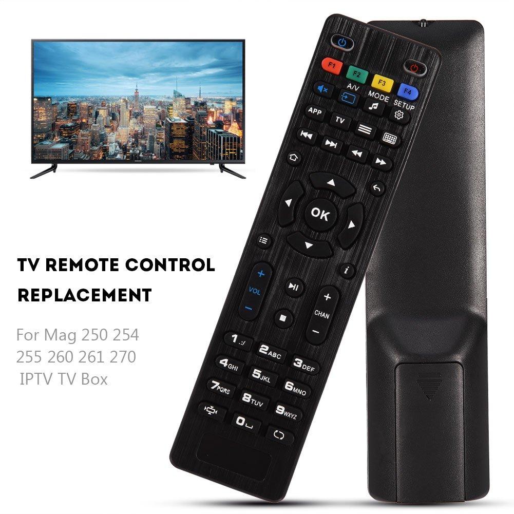 Smart TV Ersatzfernbedienung Top Box Tihebeyan MAG 254 TV Box Fernbedienung f/ür Mag 250 254 255 260 261 270 IPTV TV Box Set
