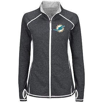 Miami Dolphins Majestic Club Pass chaqueta reflectante para ...