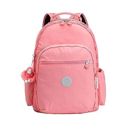 Venta de liquidación precio bajo compra original Kipling Mochila Seoul Go Best Rosa Pink F Light: Amazon.com ...