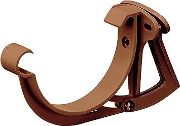 Regenrinne Kunststoff INEFA Rinnenhalter NW 125 cm justierbar halbrund Dachrinne