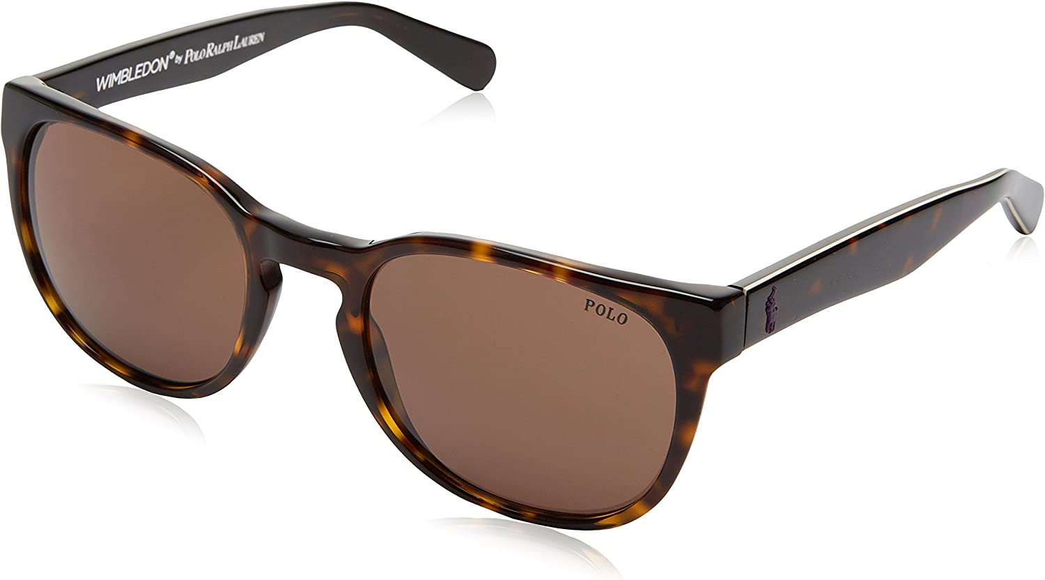 Ralph Lauren POLO 0PH4099 Gafas de sol, Shiny Dark Havana, 52 para ...
