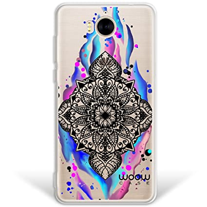 WoowCase Funda Huawei Y6 2017, [Hybrid ] Mándala Watercolor ...