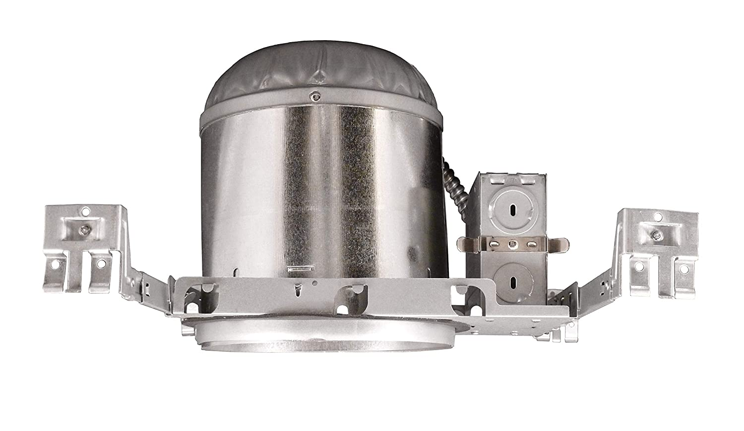 NICOR Lighting 6-Inch IC Rated Line-Voltage Airtight New Construction Housing 17002A