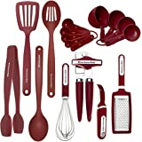KitchenAid Classic Tool and Gadget Set, 17-Piece Red
