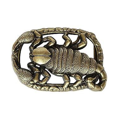 91d2c09790d4 Reptiles House GSH0824 Boucle de Ceinture en forme de Scorpio or ...