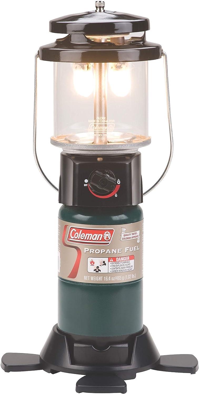 Coleman Farol de propano | Deluxe Perfect Flow Gas Lantern ...