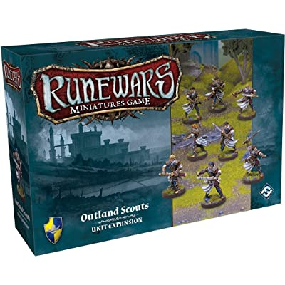 Runewars: Outland Scouts Expansion Pack: Toys & Games