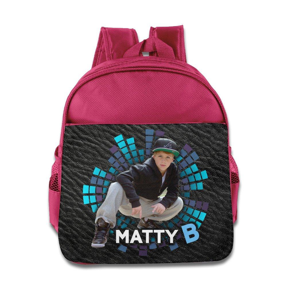 Matty B RapバックパックChildrenスクールバッグロイヤルブルー One Size ピンク B01KZJ2008  ピンク One Size