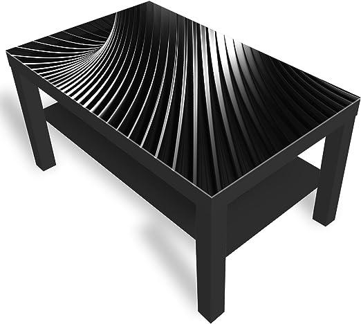 IKEA Lack Beistelltisch Couchtisch 'Abstraktion' Sofatisch