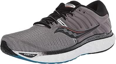 Saucony Hurricane 22 Zapatilla para Correr en Carretera o Camino de Tierra Ligero con Soporte Pronaciòn para Hombre Negro: Amazon.es: Zapatos y complementos