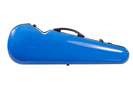 Estuche para violín fibra de vidrio Vision 4/4 Azul M-Case ...