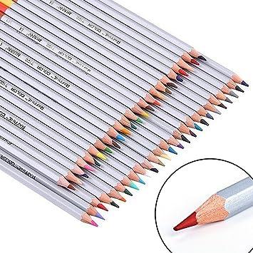 Noza Tec - Lápices de colores para dibujo/dibujo/jardín secreto ...