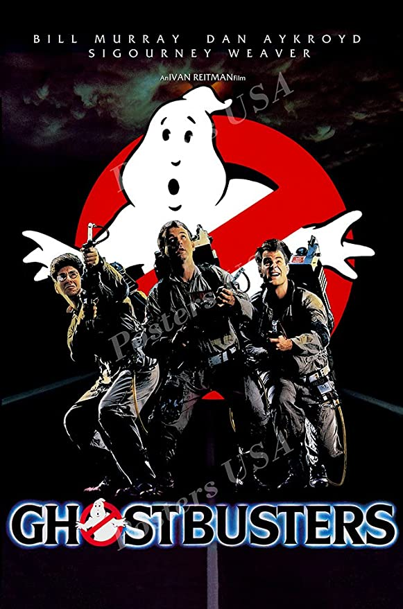 LARGE 24X36 MOVIE POSTER Premium Poster Paper GhostBusters
