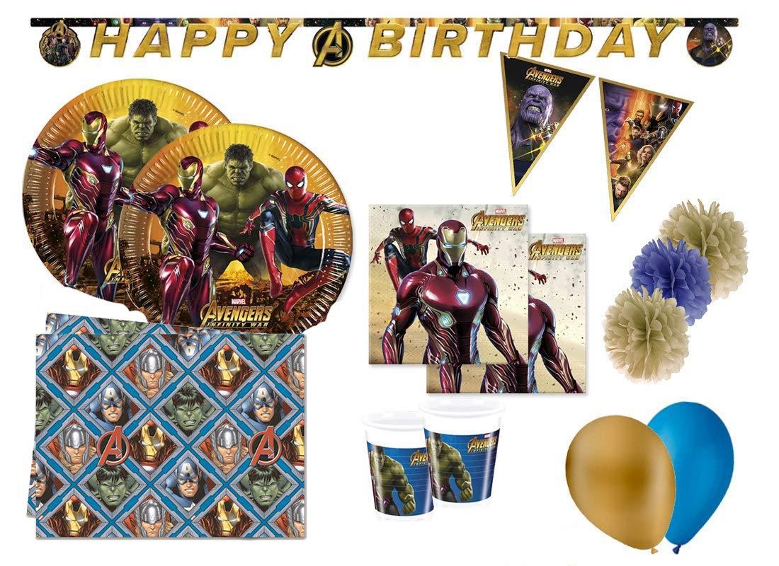 Decorata Party Vengadores de cumpleaños coordinados Avengers ...